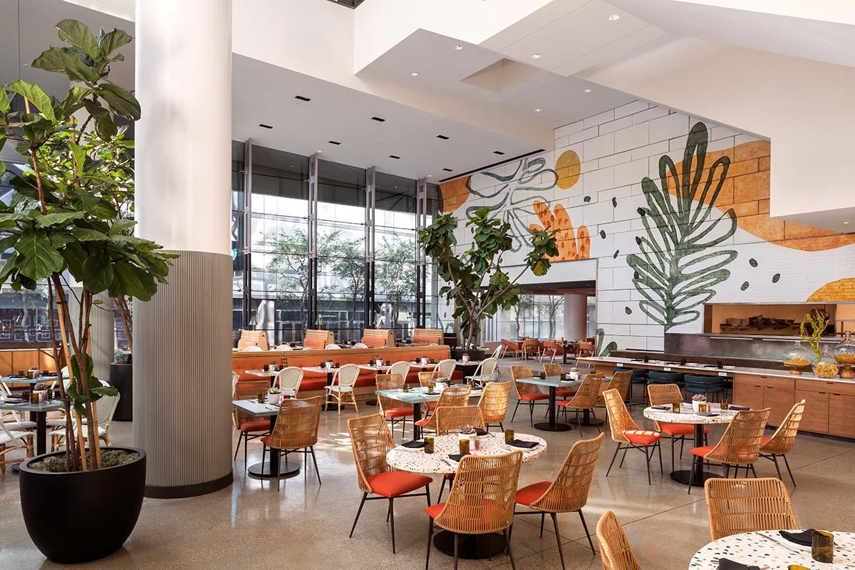 JW Marriott Los Angeles L.A. Live - Photo © Don Riddle
