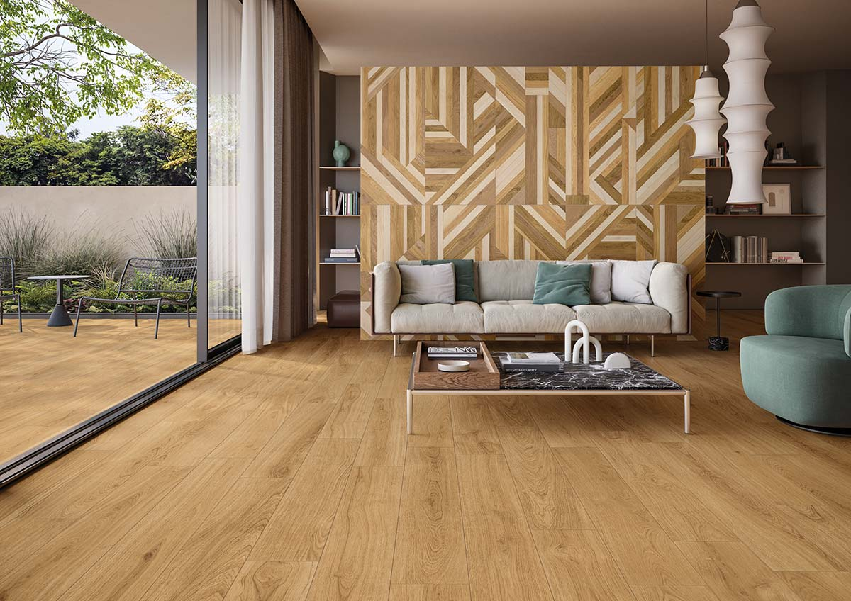 Lineo collection by Ceramiche Keope