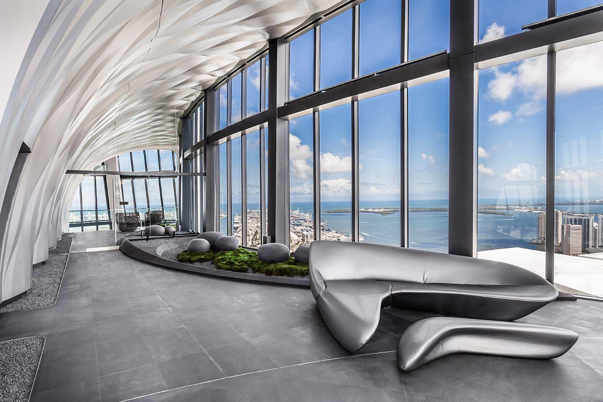 One Thousand Museum, Miami - Photo © Emilio Collavino