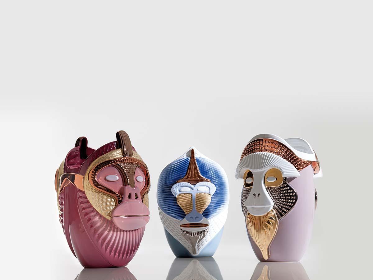 Primates by Bosa, Design Elena Salmistraro