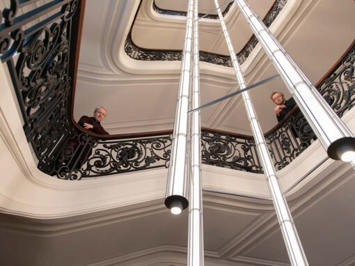 Ronan & Erwan Bouroullec, Vertical Light by Flos Bespoke - Photo © Luca Caizzi