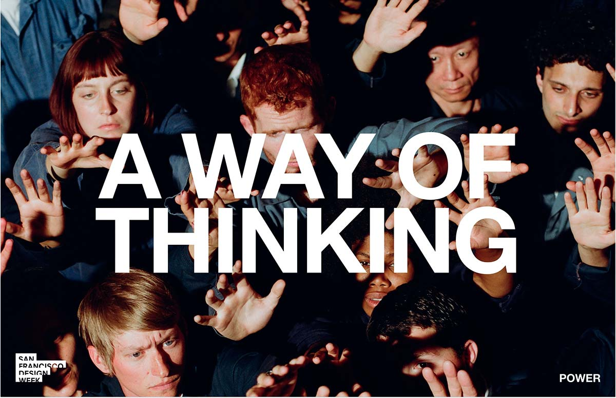 'A Way Of Thinking' - HERO Image. Photo © SF Design Week 2021 Campaign by Landscape