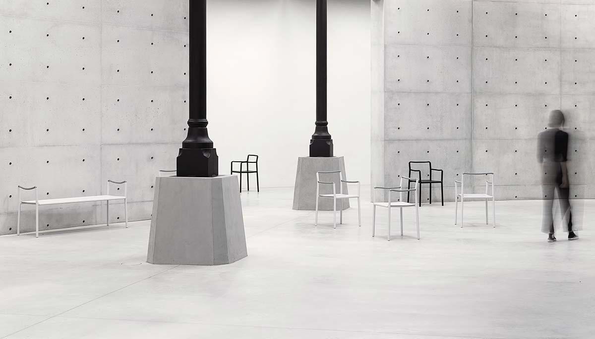 The Rope collection by Artek - Photo © Studio Bouroullec