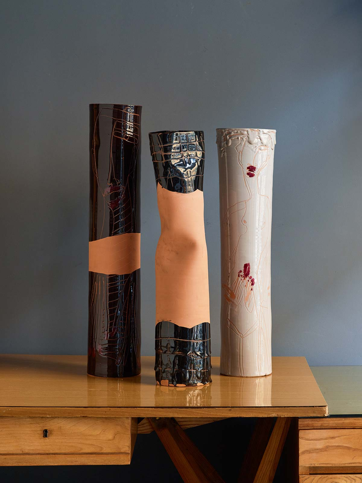 Vases by Antonio Marras