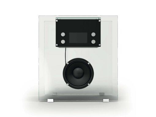 Cassina, Radio in Cristallo by Franco Albini, I Maestri Collection