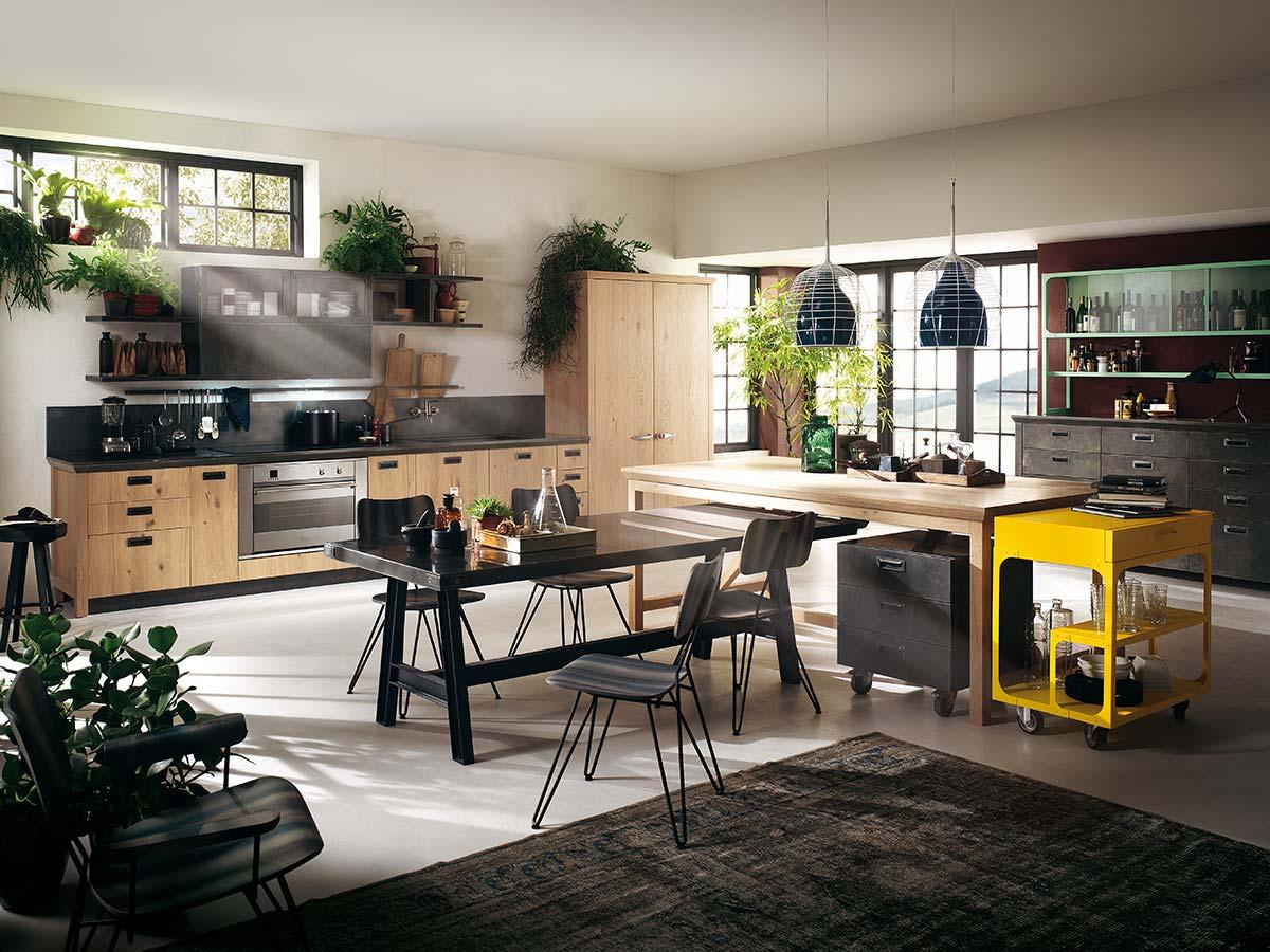 Diesel Social Kitchen by Scavolini, Design Diesel Creative Team (2013)