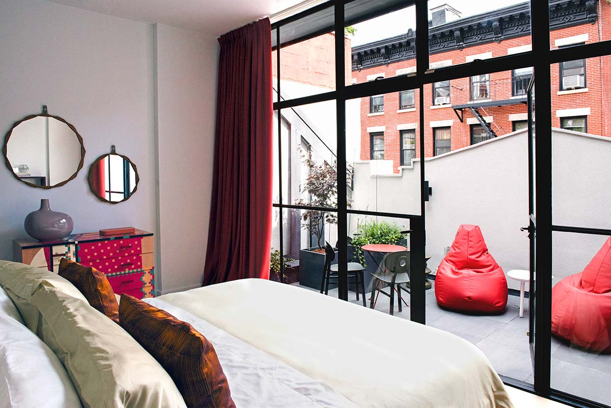 Zanotta House New York @ 23 Cornelia Street. Photo © Adrianna Glaviano