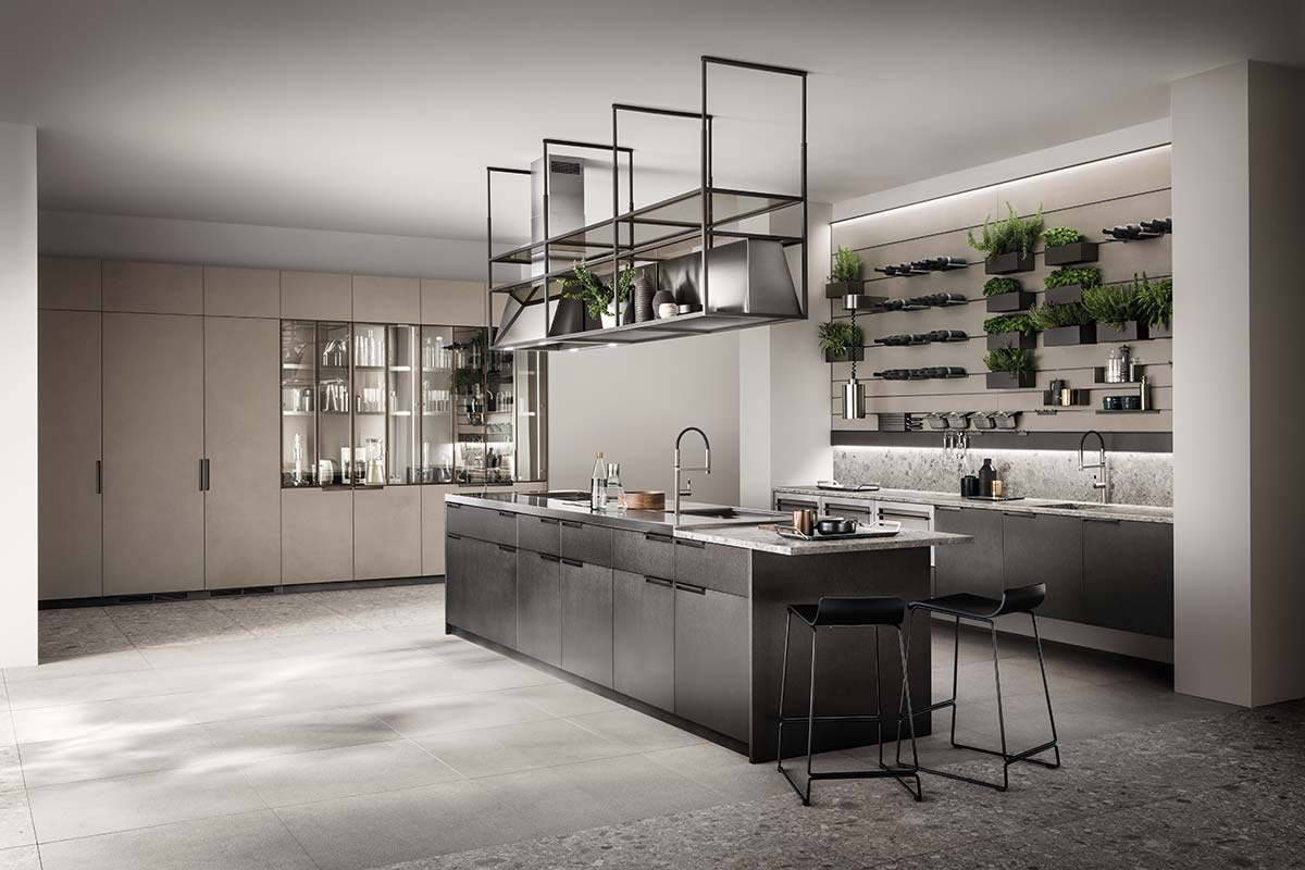 MIA by Scavolini, Design Vuesse in collaboration with Carlo Cracco (2018)