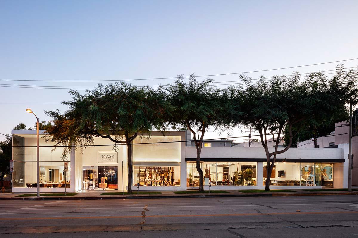 Mass Beverly showroom, Los Angeles