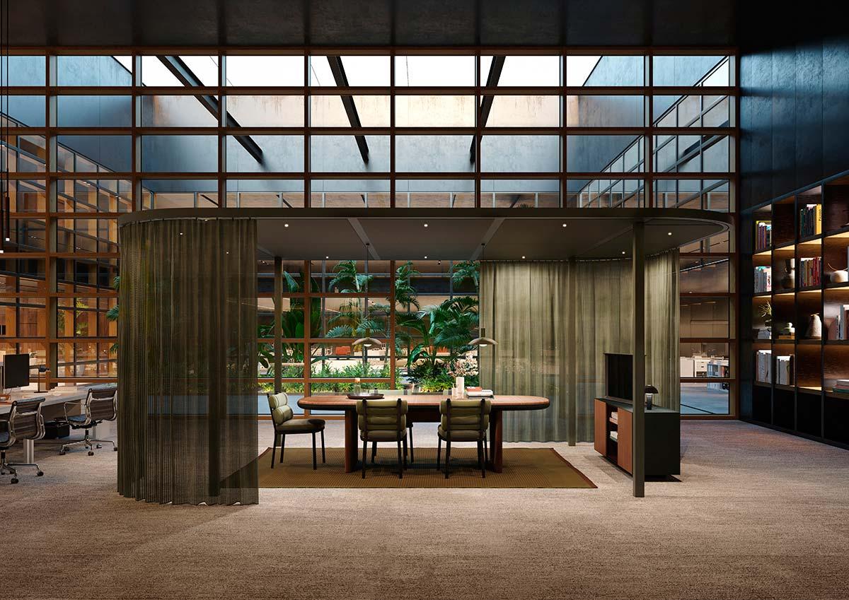 Pavilion O by Kettal