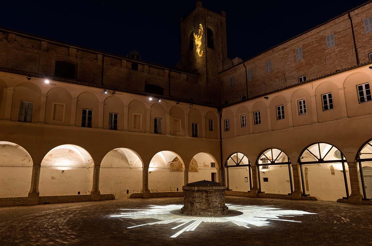 iGuzzini, Light for Future, Chiostro Sant'Agostino