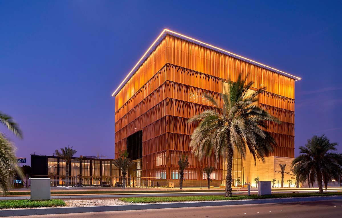 Francesconi Architectural Light, Accademia Diplomatica Abu Dhabi