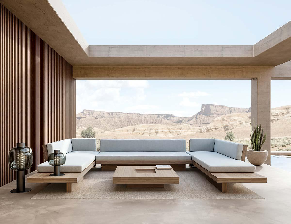 Plateau collection by Bonetti : Kozersky Architecture
