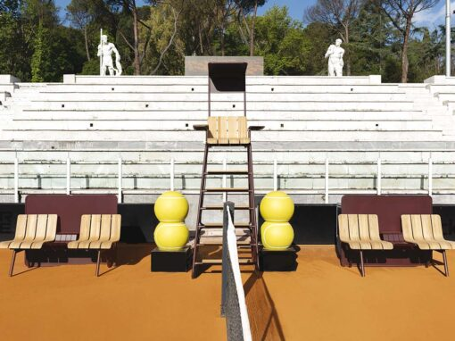 Ace by Ethimo, Design Patrick Norguet - Foro Italico, Rome