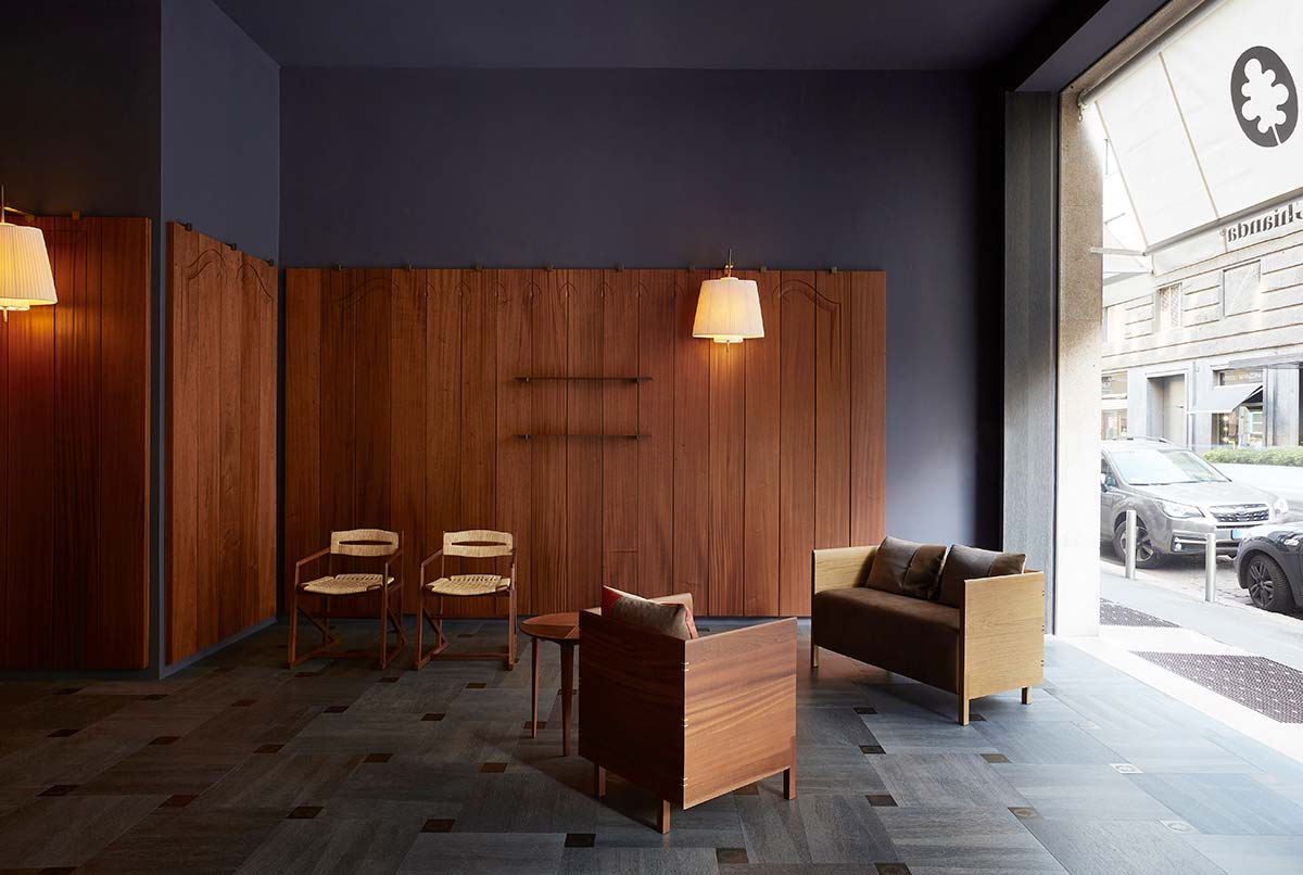 Bottega Ghianda showroom, Milan