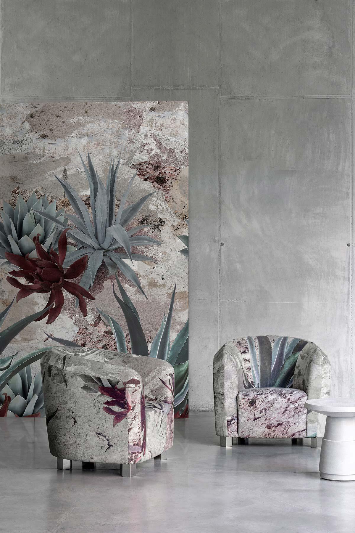 Diesel Living with Wall&decò. Desert Flowers
