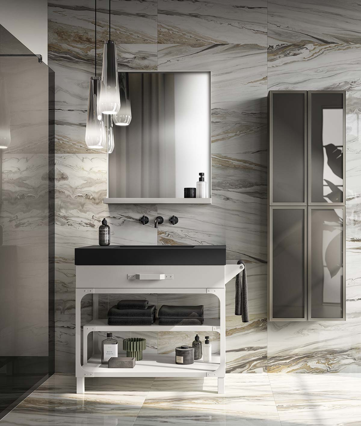 Diesel Misfits Bathroom by Scavolini & Diesel Living