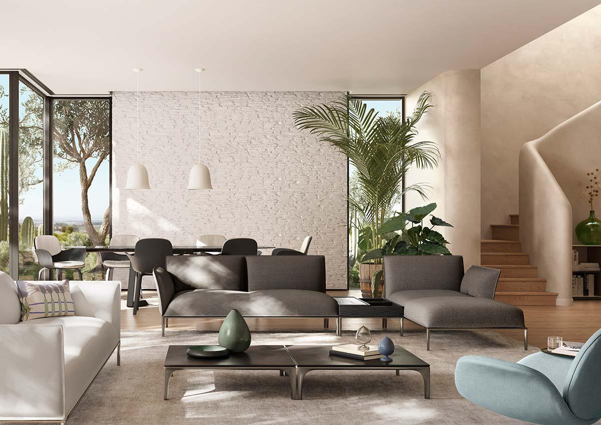 Eufolia by Natuzzi, Design by Marcel Wanders studioEufolia by Natuzzi, Design by Marcel Wanders studio