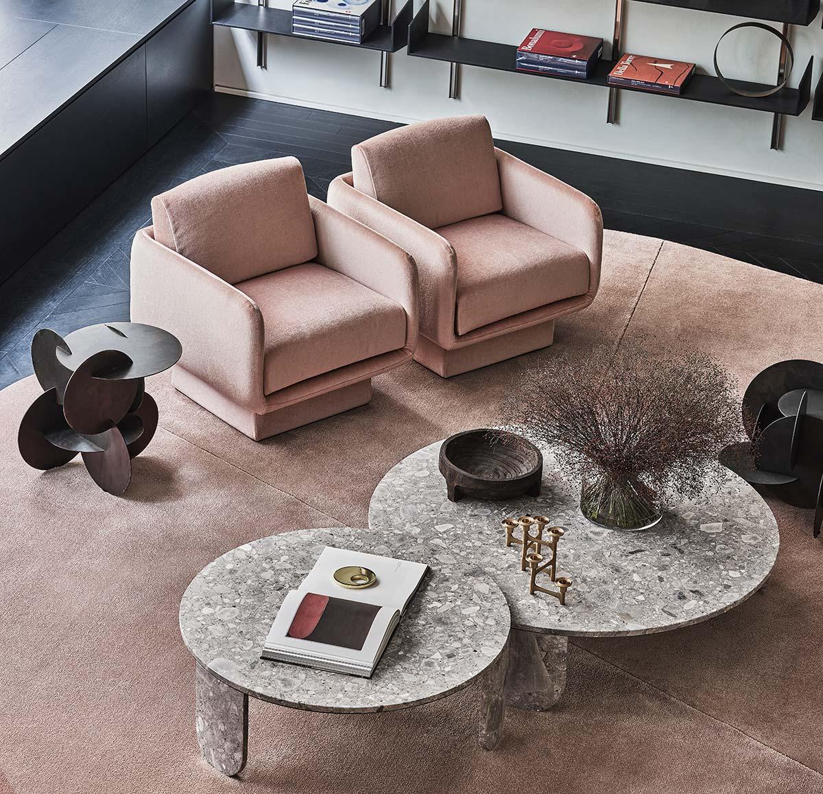 Lilas by Gallotti&Radice, Design Dainelli Studio - Photo © Matteo Imbriani