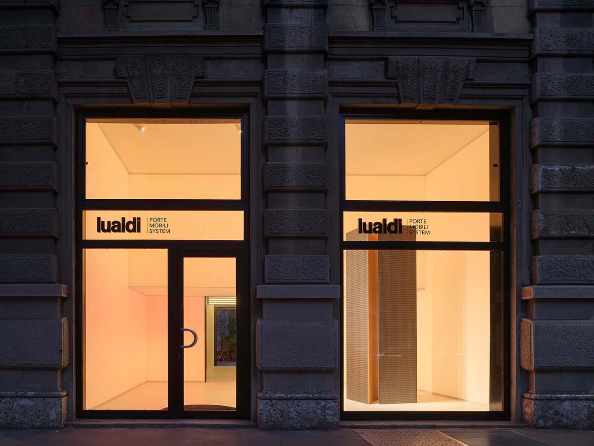 Lualdi showroom, Milan - Photo © Beppe Raso