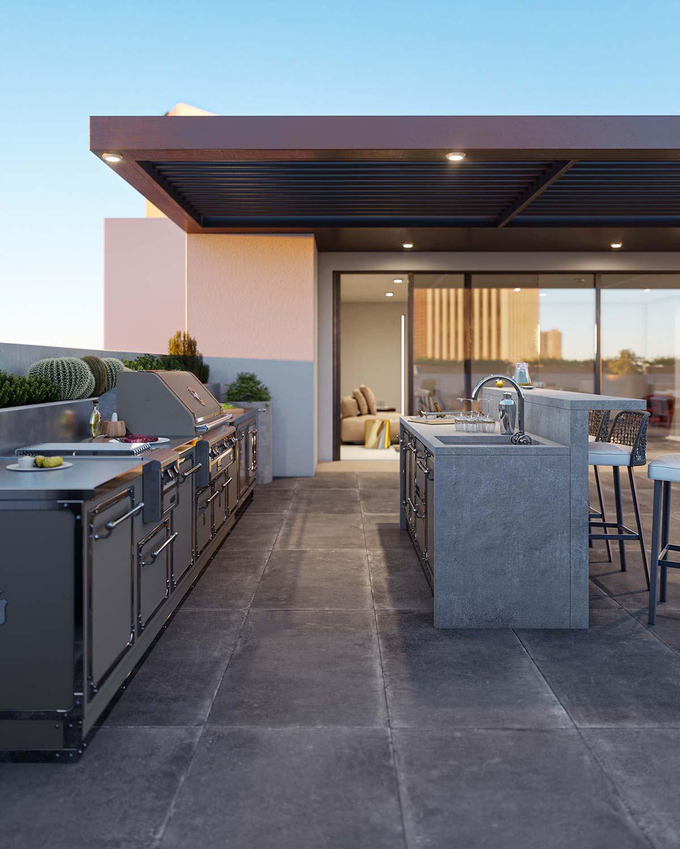 Outdoor Kitchen by Officine Gullo