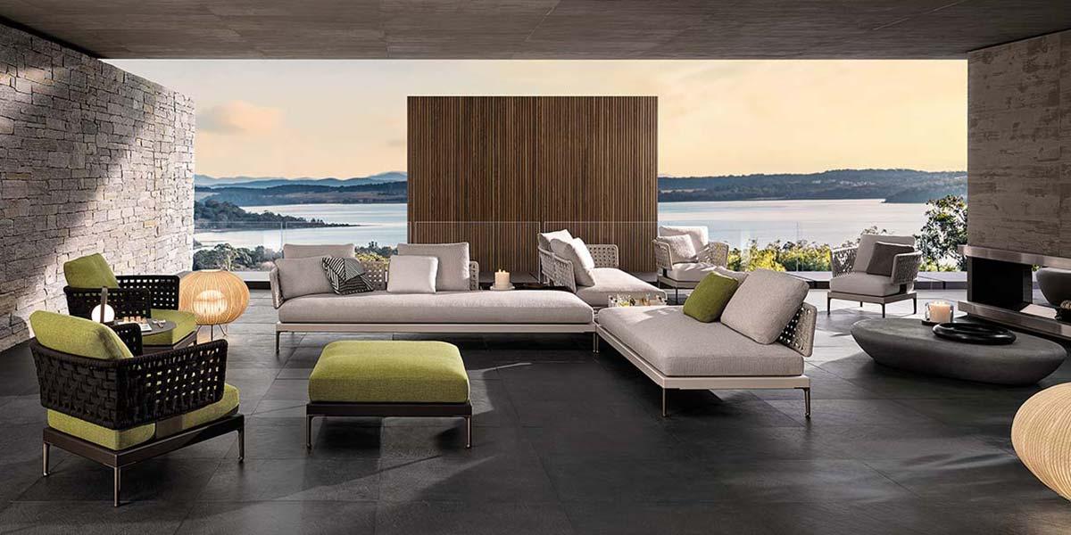 Patio by Minotti, Design GamFratesi