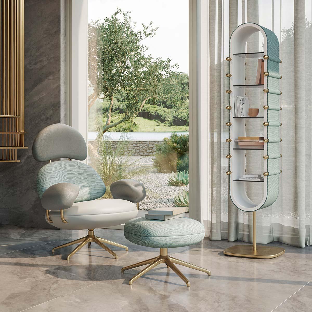 Posidonia collection by Natuzzi, Design by Elena Salmistraro