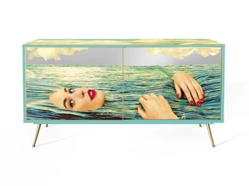 Sideboard Sea Girl by Toiletpaper Home