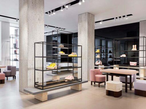 AGL showroom, Milan - Photo © Omar Sartor