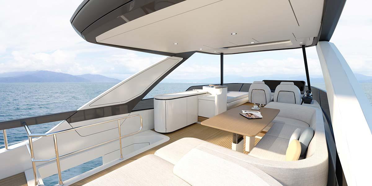Azimut 68 by Azimut Yachts