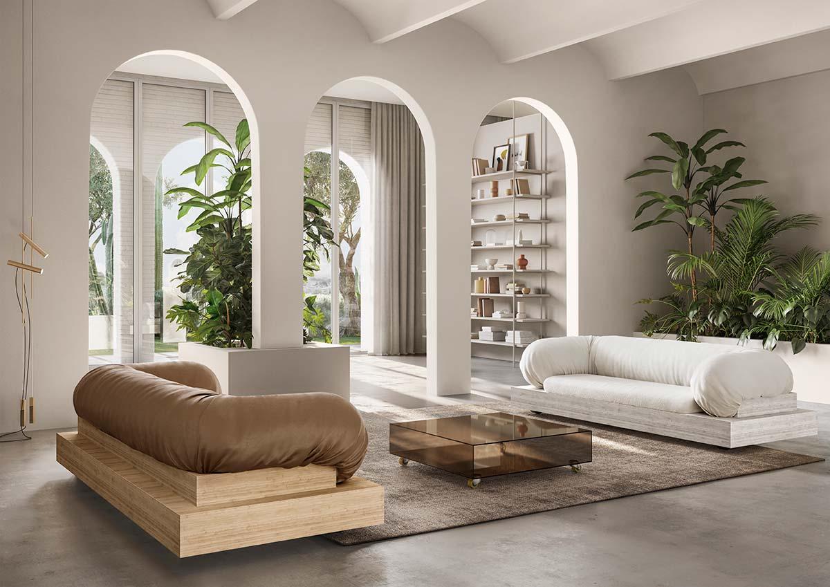 Block by Natuzzi, Design by Sabine Marcelis