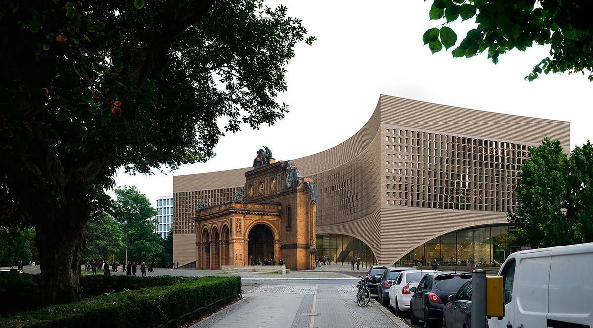 Exilmuseum by Dorte Mandrup Arkitekter A/S, Copenhagen