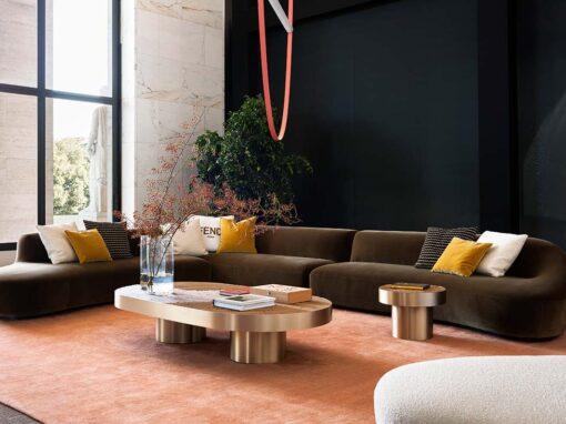 FENDI Casa 2021, The Crafting Mood installation, Sandia sofa by Toan Nguyen