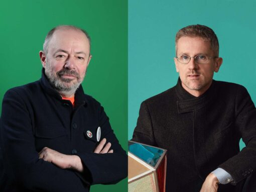 Italo Rota & Carlo Ratti - Photo © Massimo Sestini & Sara Magni