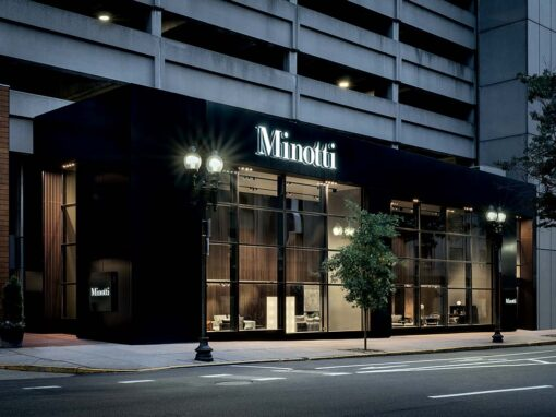 Minotti Boston flagship store