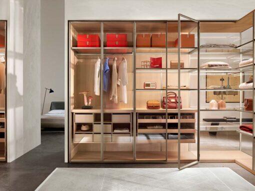 Storage by Porro, Design Piero Lissoni + CRS Porro