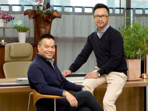 Terence Ngan & Ed Ng - Photo © Russel Wong